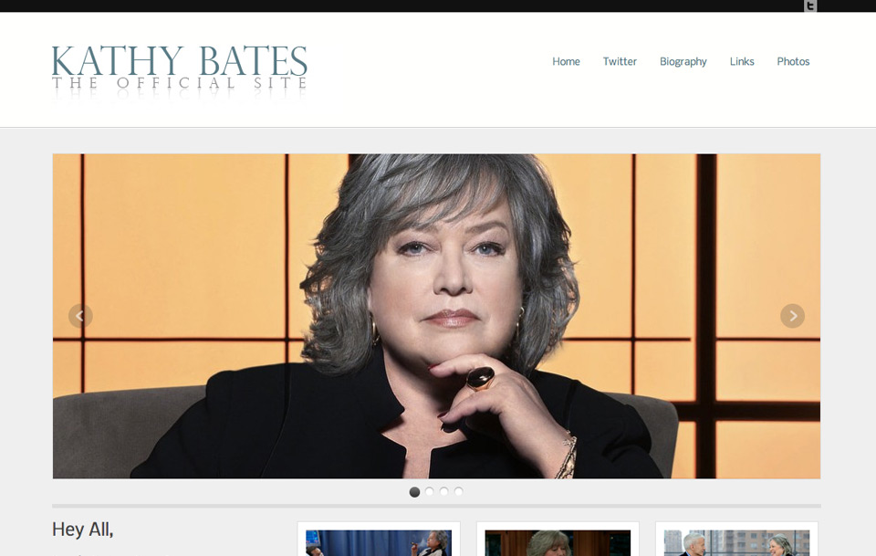 Kathy Bates Official